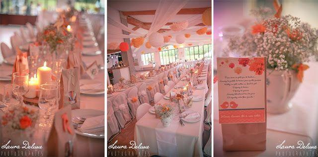 deco table champetre  Décoration pour mariage  Pinterest
