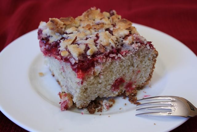 Raspberry Crumb Cake | Cakes | Pinterest