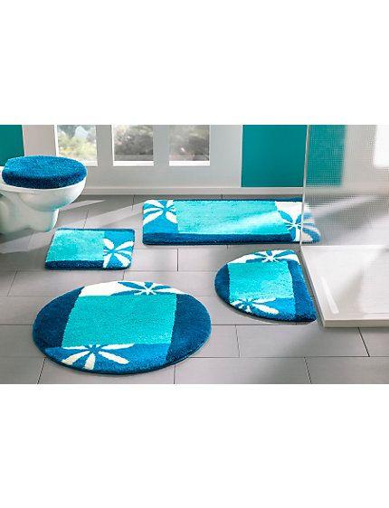 Badezimmer garnitur blau