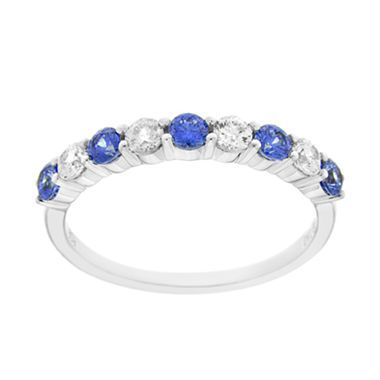 sapphire promise ring birthstone jewelry sparkley