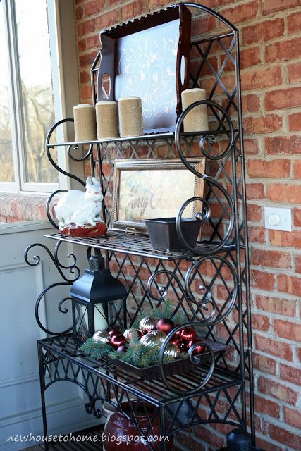 Bakers rack decorating ideas in your kitchen bakers rack decorating