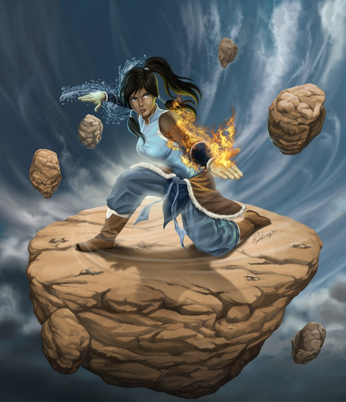 Avatar Art: Avatar Korra (Fan Art)