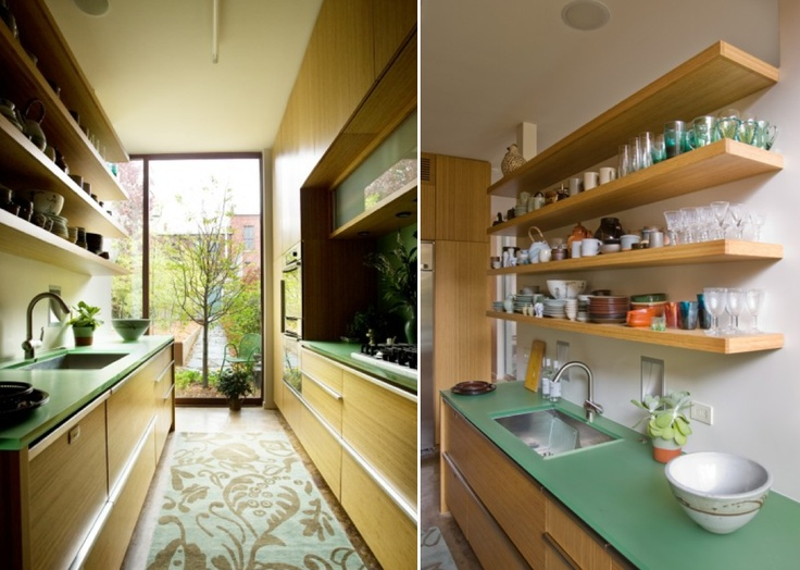 Pullman Kitchen Design : Pullman Kitchen Smart Shelving Display Objects Make it Smaller for an ...