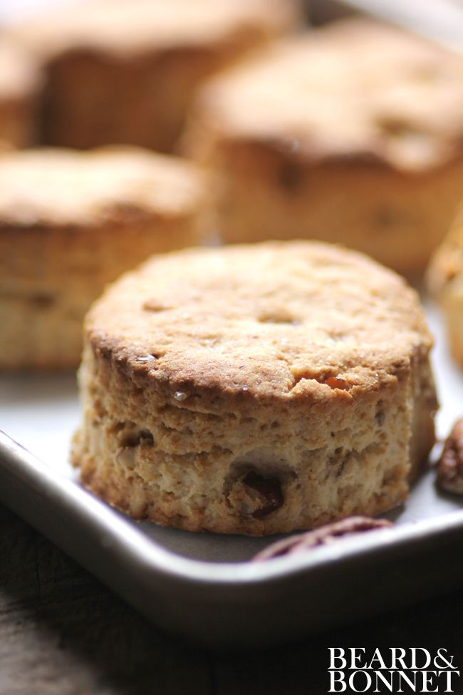 "Gluten Free Brown Sugar and Pecan Biscuits ~ via this blog, ""Beard and ..."