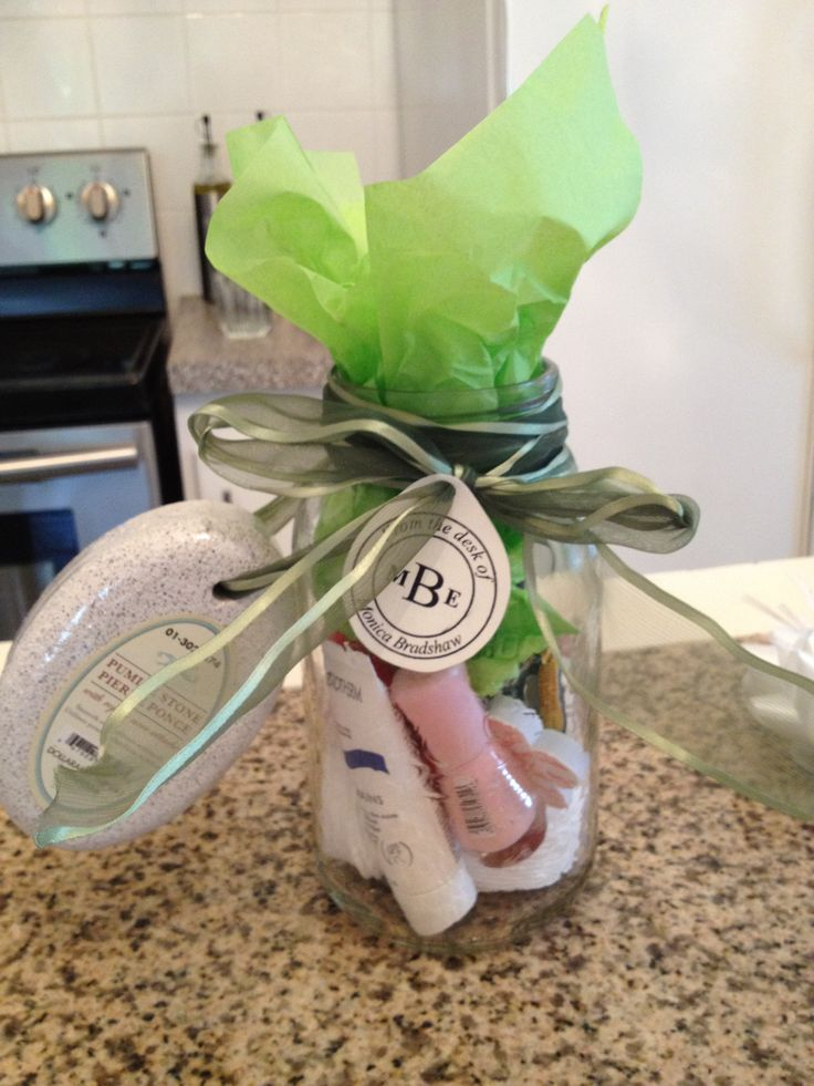 Mason Jar Manicure Set | Gift Ideas | Pinterest