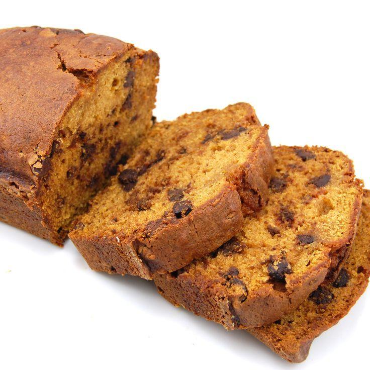 Pumpkin Chocolate Chip Bread. | Sweets (Breads) | Pinterest