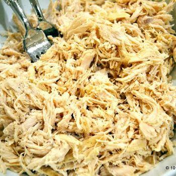 Easiest Crock Pot Shredded Chicken | Gettin My Cookin On | Pinterest
