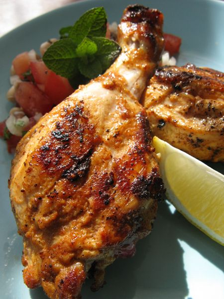 Grilled Chicken, Tandoori Style | Good Eats | Pinterest
