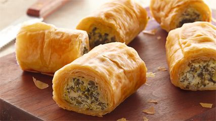 travel bag men MakeAhead Spinach Phyllo RollUps  Unhealthy Recipes