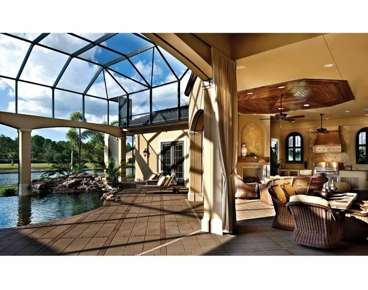 Indoor outdoor pool dream home dream house pinterest for Home outdoor pool