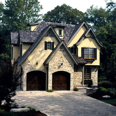 French style home exterior cottage style homes for Cottage style homes exteriors