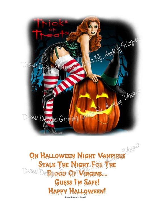 Blood Of Virgins Humorous Award Gift Idea by AnnKayGreetingCards, $15 ...