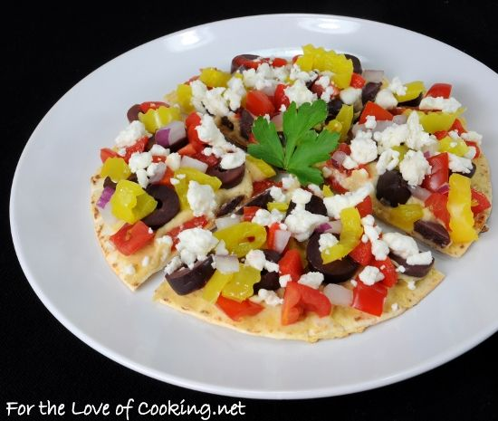 Greek Nachos | Nachos | Pinterest