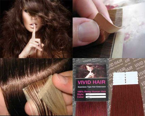Vivid Red Hair Extensions 89