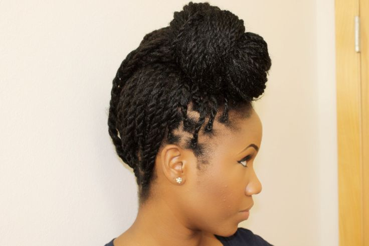 shaved side hairstyles men : Corn Rows with Marley Hair Styles Box Braids, Senegalese Twists, and ...