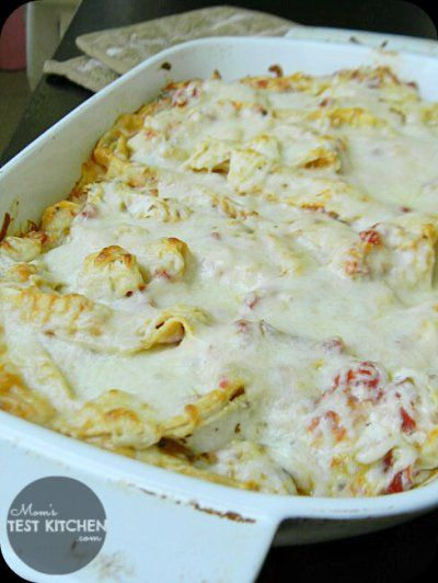 Simple Chicken Tortilla Casserole