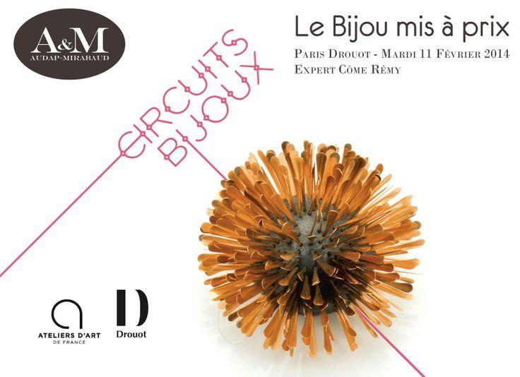 """""""Le Bijou mis à prix"""" Vente aux enchères de bijoux contemporains mardi 11/02/14, Paris - Drouot"""