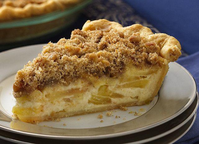 Sour Cream-Apple Pie Recipe | Pies | Pinterest