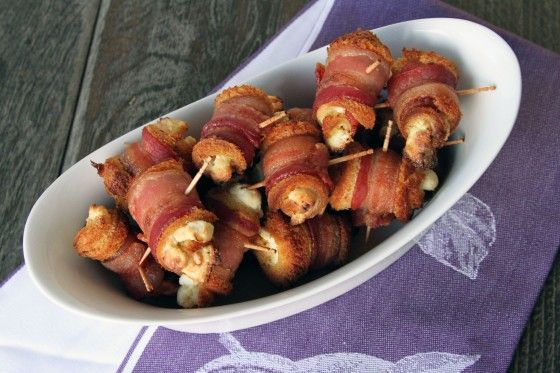 Easy Bacon Cream Cheese Roll-Ups {My Life as a Mrs}