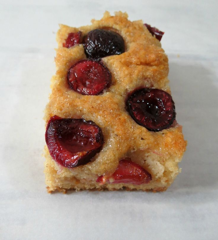 Cherry Coffee Cake from Peanut Butter & Peppers