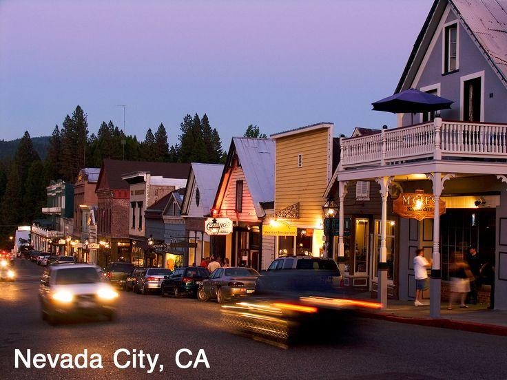 Nevada City, California