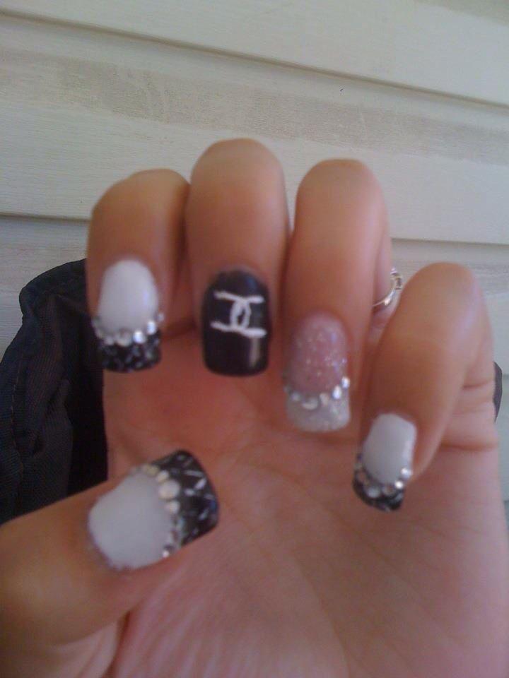 nail designs with gems nail art designs