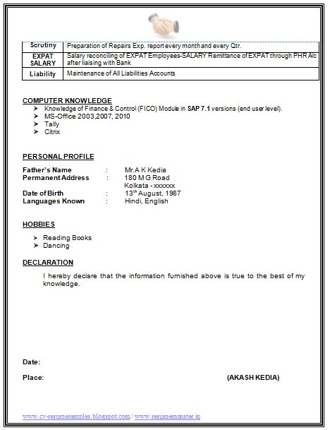 4f1bba0e292a796208bd841b3de1ff01 e resume examples - E Resume Examples