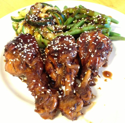 Asian Glazed Drumsticks - healthy AND yummy!