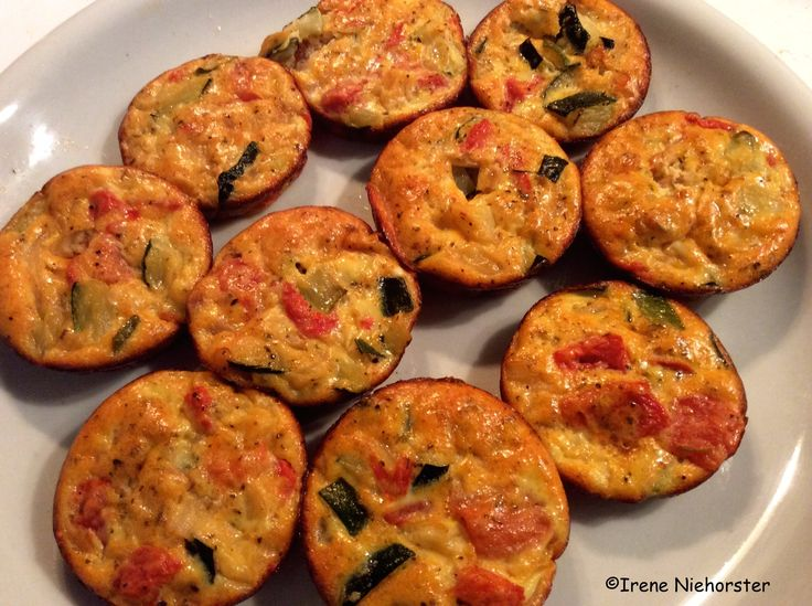 Caramelized Onion, Red Pepper And Zucchini Frittata - 3 Pts Recipes ...