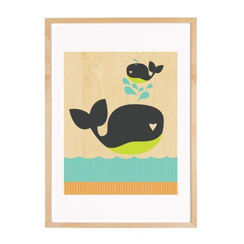 Family Whales. $35.00, via Etsy.
