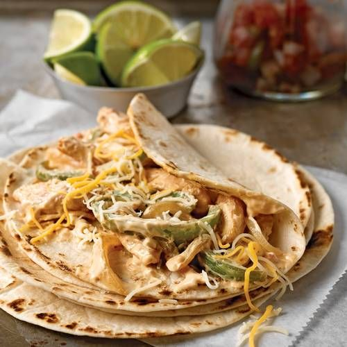 chicken fajitas chicken fajitas with crunchy lime cabbage and avocado ...