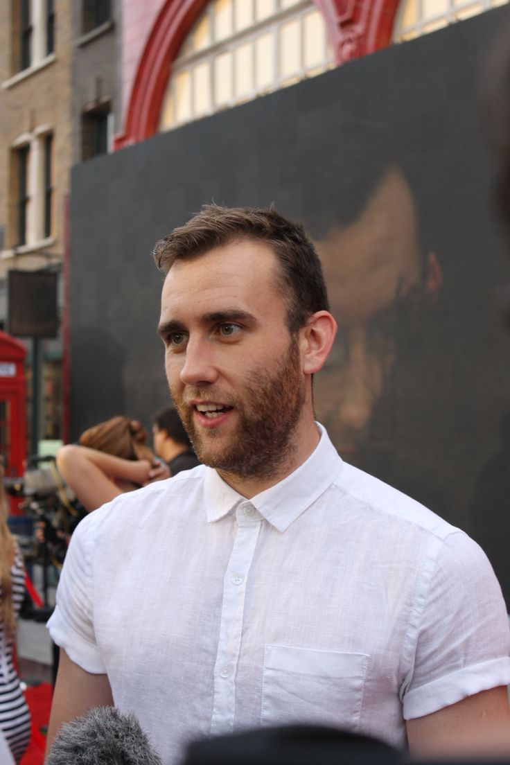 Matthew Lewis at Diagon Alley preview event
