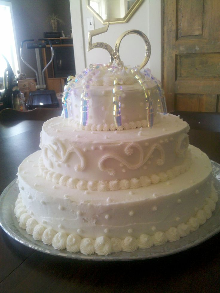 Cake Decorating Ideas For 50th Wedding Anniversary : 50th Anniversary Cake Ideas 30690 50th Wedding Anniversary