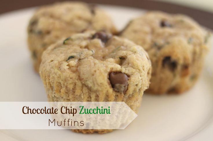 Chocolate Chip Zucchini Muffins | Treats I Can't Resist! | Pinterest