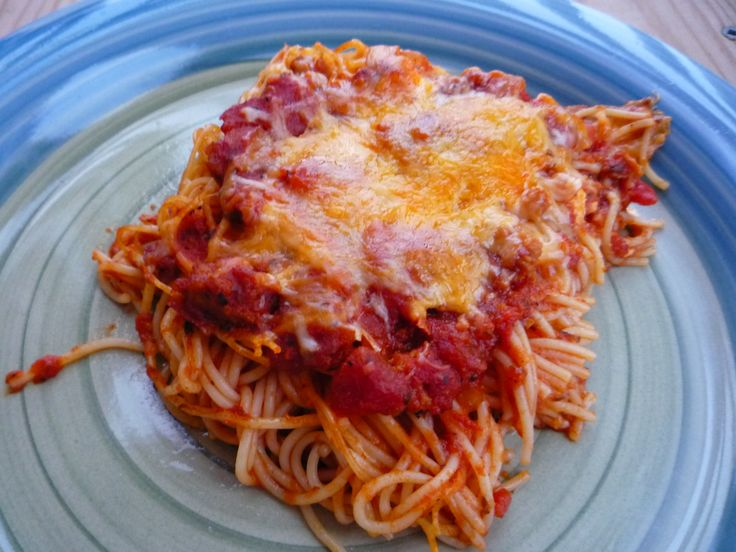 Baked Spaghetti | Food & Drinks | Pinterest
