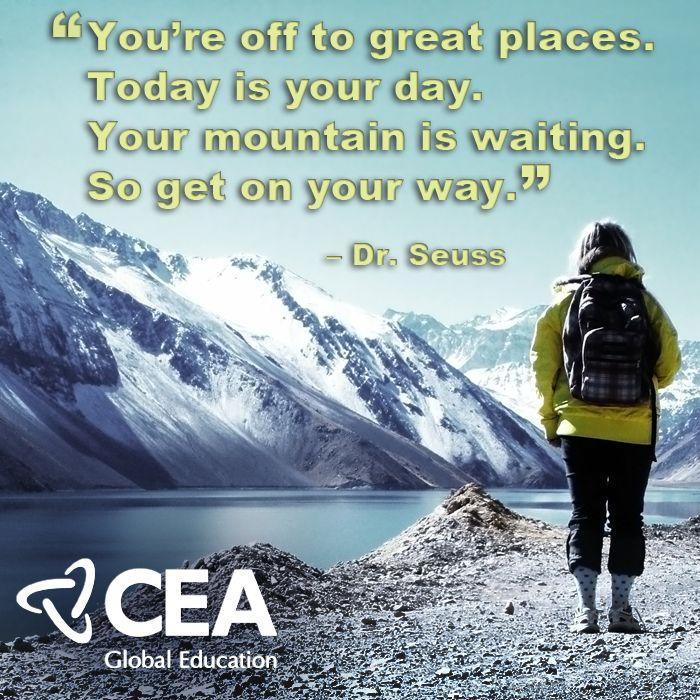 Dr seuss quotes about travel quotesgram
