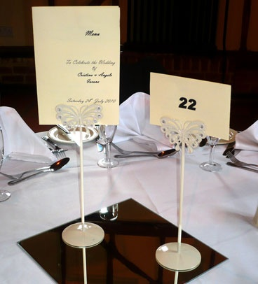Wedding Present Table Pinterest : table name holders Wedding Gifts, Favours & Place Cards Pinterest