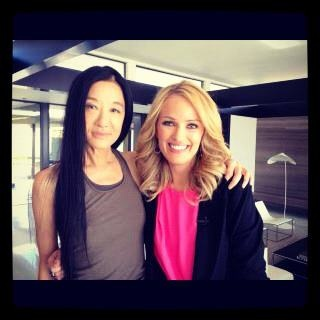 One of my fave designers, Vera Wang!