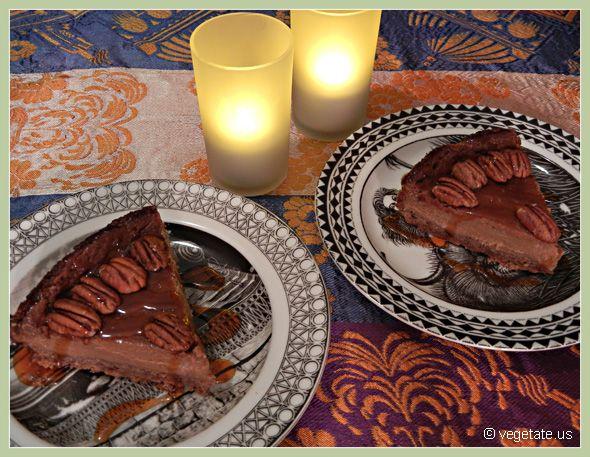 Banana Rum Cheesecake with Spiced Pecan Crust & Maple Rum Sauce ...