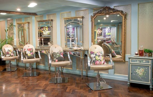 Most beautiful hair salon ever hairdressers only for A star is born kids salon