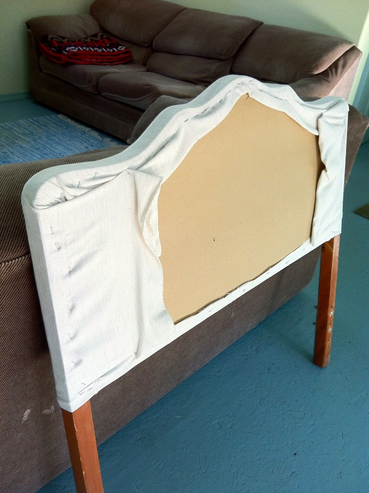 Comfortable Furniture Recovering A Headboard