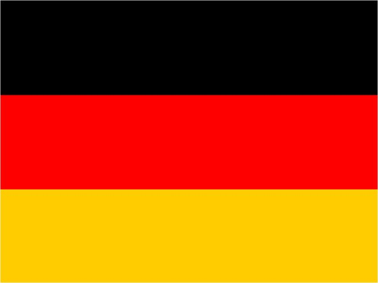 what is the german flag called