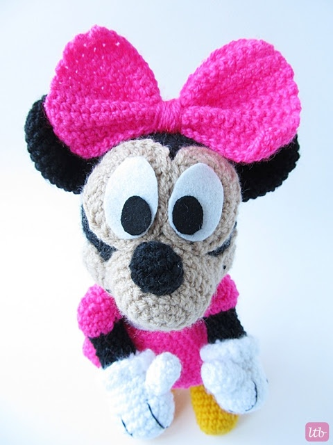 Amigurumi Free Minnie Mouse Pattern : Minnie Mouse Amigurumi Pattern Free Joy Studio Design ...