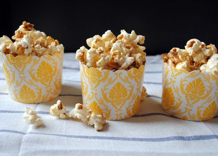 sugar-and-spice popcorn | nom nom nom | Pinterest