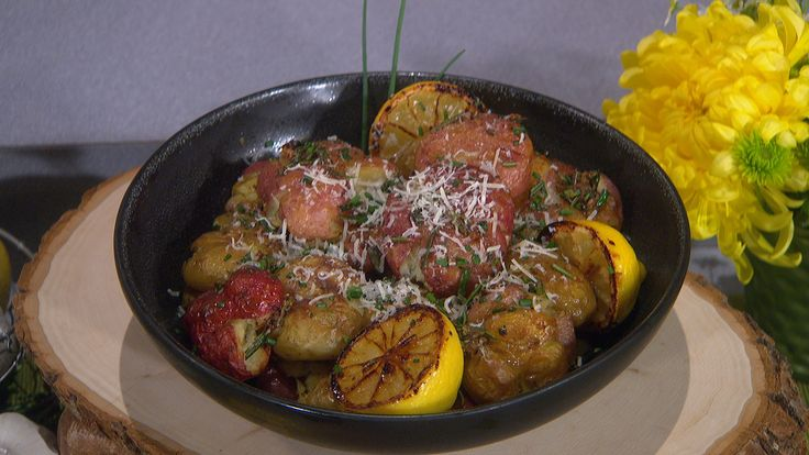 ... Potatoes with Burnt Lemon and Parmesan and Ricotta Fritters recipes