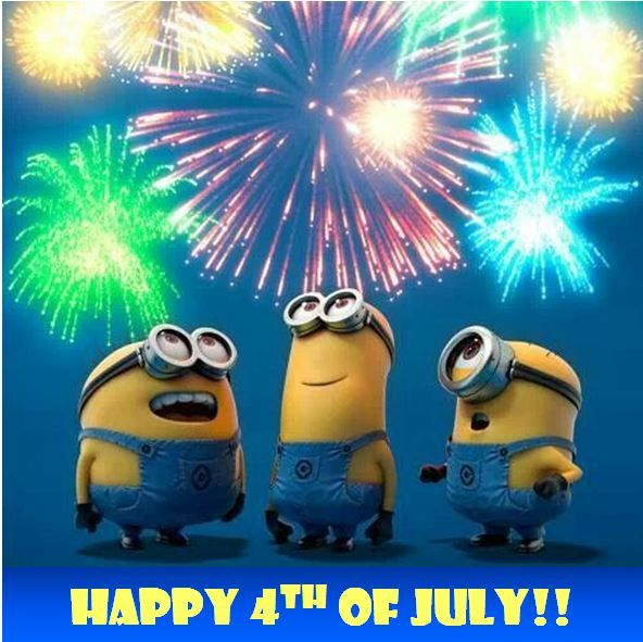 Happy 4th of July  One in a Minion  Pinterest
