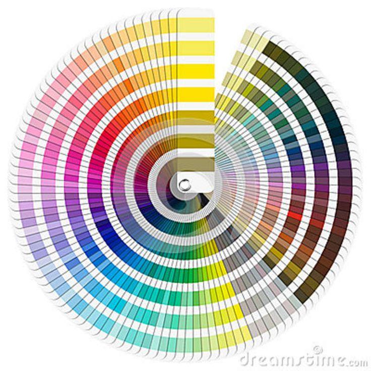 pantone color wheel chart printable  Pantone color palette guide