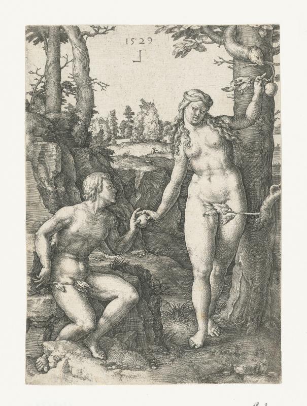 Lucas van Leyden, The Fall, 1529