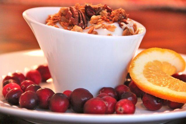 Cranberry Orange Granola | Recipe