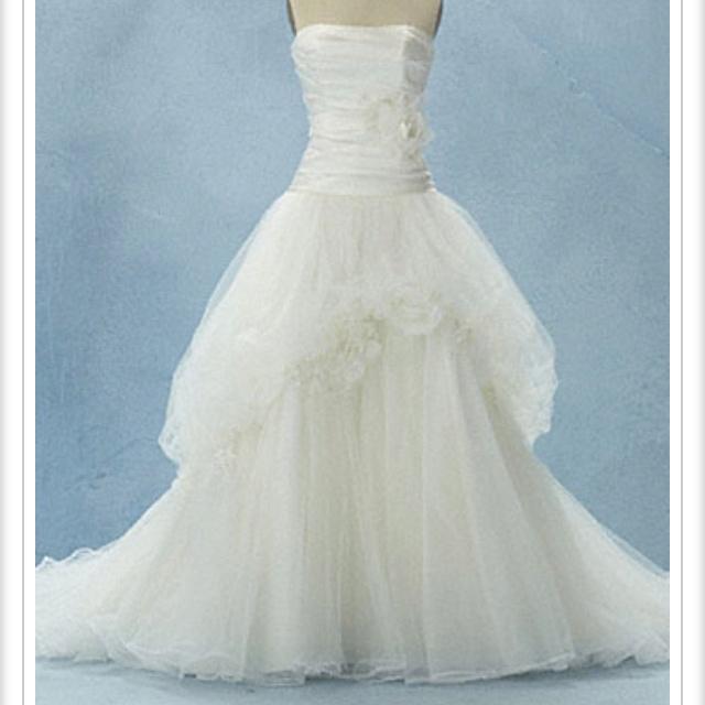 Disney Wedding Dress Snow White